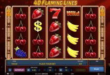 40 Flaming Lines Online Slot