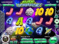 Alien Spinvasion Online Slot