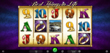 Best Things In Life Online Slot