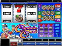 Captain Cash Online Slot