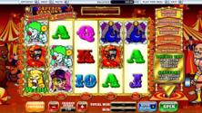 Captains Cannons Circus Of Cash Online Slot