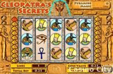 Cleopatras Secrets Online Slot