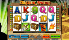 Dragon Sword Online Slot