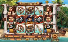 Exploding Pirates Online Slot