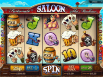 Fortunate Saloon Online Slot