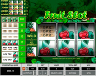Fruit Slot 3 Reels Online Slot