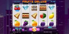 Fruits Deluxe Online Slot