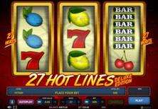 Hot 27 Lines Deluxe Edition Online Slot