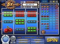 Jackpot Five Times Wins Online Slot