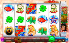 Kiss Of Luck Fuga Online Slot