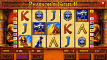 Pharaohs Gold Ii Deluxe Online Slot