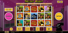Secret Agent Online Slot