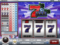 Sevens And Bars Online Slot