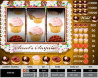 Sweet Surprise 3 Reels Online Slot