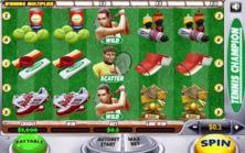 Tennis Champion Online Slot