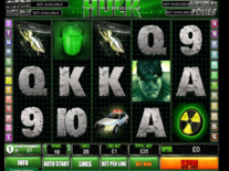 The Incredible Hulk 50 Lines Online Slot