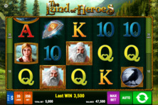 The Land Of Heroes Online Slot