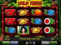 Wild Thing Online Slot