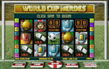World Cup Heroes Online Slot